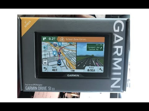"Garmin Drive 51 EX Navigational System  ""The Best On The Market"""
