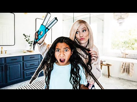 Get ready with us!!   Large Family Pictures!!   Crazy Morning Routine!