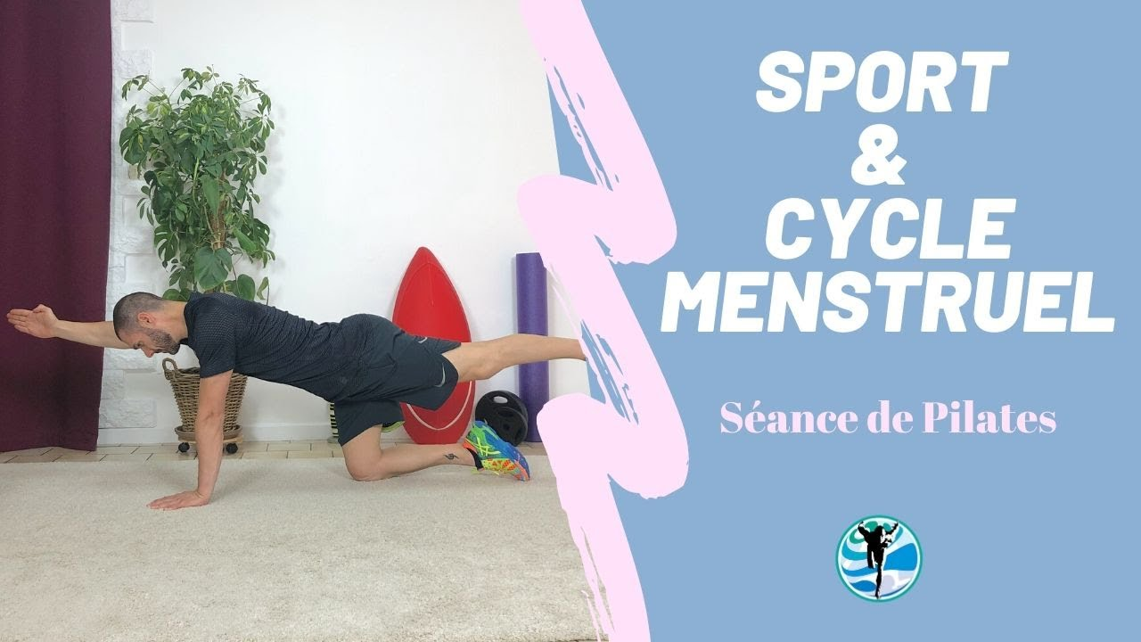 Sport et cycle menstruel : Séance de Pilates