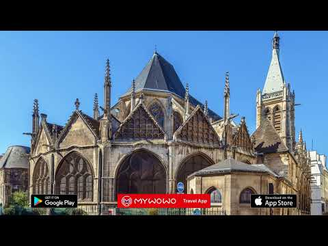 Quartier Latin – Églises Médiévales – Paris – Audioguide – MyWoWo  Travel App