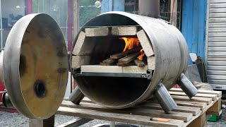 Making a Barrel Pizza Oven that works!