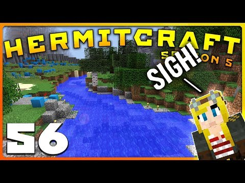 HermitCraft 5 | FALSIE TO THE RESCUE!! (again...)  | Ep 56 |