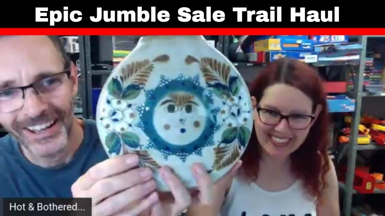 Jumble Sale Trail Haul - Its a big one.....