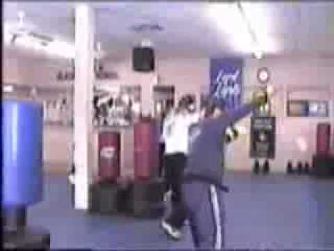 Troy Dorsey Kickboxing Workout part 1