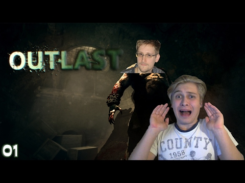 WIE EDWARD SNOWDEN?!! | Outlast: Whistleblower (DLC) - Ep.1