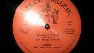 Dawit Menelik Tafari - Peace And Love