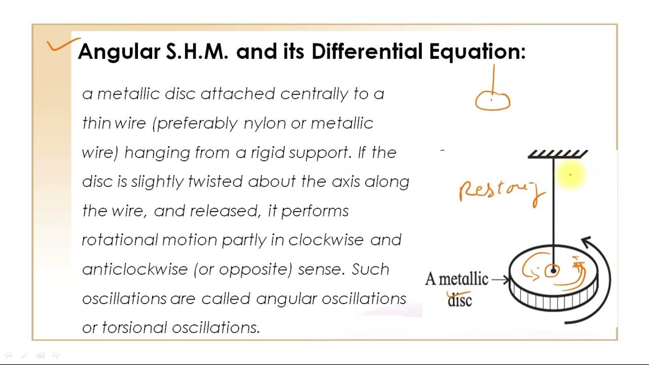 Oscillations 5.11