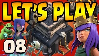 Clash of Clans: Let's Play TH9!! ep8 - 7,000,000 GOLD!!! Balloons + Queen lv7
