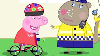 Peppa Pig Full Episodes | The Police | Cartoons for Children