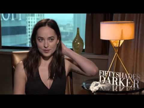 FIFTY SHADES DARKER - Dakota Johnson with Scott Carty
