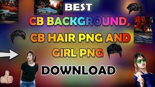 Genial die Bearbeitung Geschenk-Download || CB-Hintergrund Download || CB Mädchen PNG-Download || CB Haar-PNG