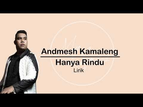 Andmesh-hanya Rindulyrics