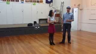 2015-04-28 Rob & Emma Balboa Intermediate Class Review Throw-out on 5