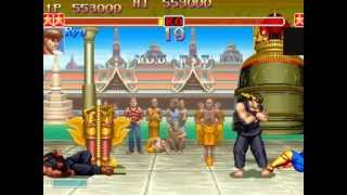 Super Street Fighter II Turbo (Arcade) Playthrough as Ryu