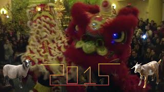 """Happy Lunar New Year 2015 - Year of the """"Horned Animal"""""""