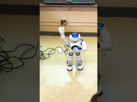 Dancing robot 🤖