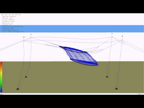 부침식가두리 시뮬레이션(Computer Simulation of Offshore Submersible Farming System )