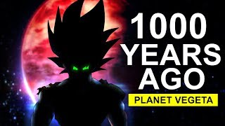 Broly's Hidden Connection To A Saiyan That Lived on Planet Vegeta 1000 Years Ago