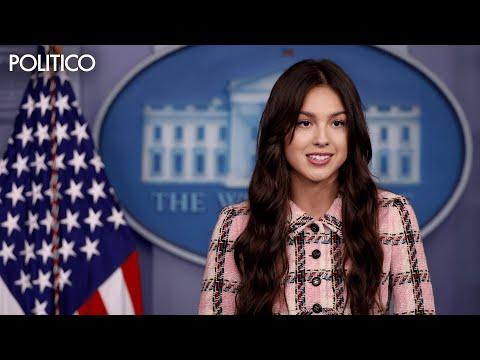 Olivia Rodrigo joins Biden vaccine push to make young people 'happy and healthy'