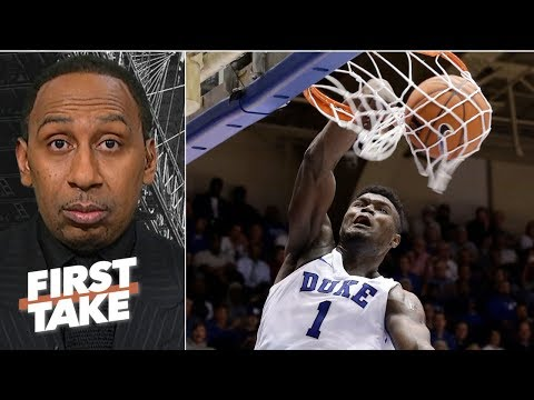 Zion Williamson's 鈥榬eckless abandon鈥� is a cause for concern 鈥� Stephen A. | First Take