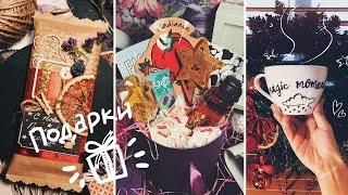 Оформляем подарки /DIY/ шоколадка-открытка, расписываем чашку и собираем beauty box