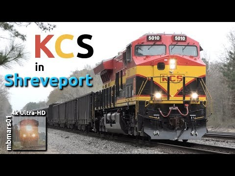 [6a][4k] Kansas City Southern in Shreveport, LA, 03/12/2019 ©mbmars01