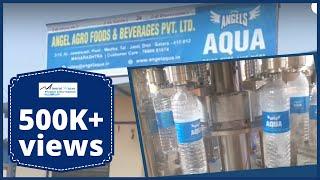 Mineral Water Plant - Angel Aqua Satara