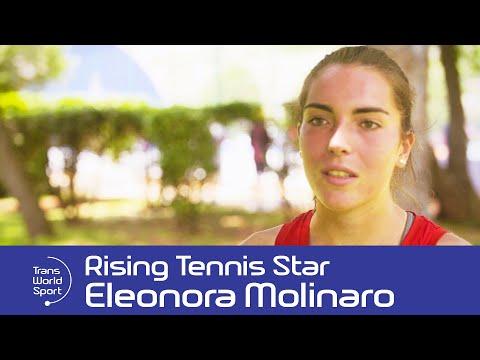 Eleonora Molinaro: Luxembourg's Teen Tennis Talent | Trans World Sport