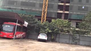 Tiến Độ Dự án chung cư Comatce Tower T2- Ngụy Như Kon Tum Tháng 1/2016