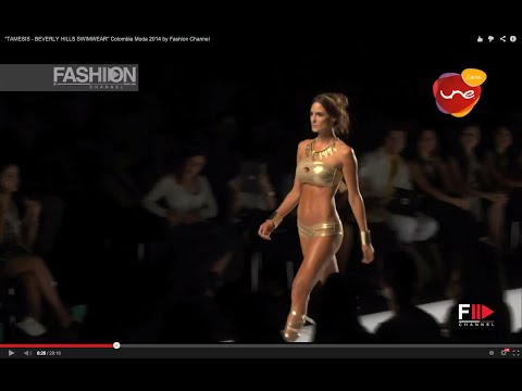 """TAMESIS - BEVERLY HILLS SWIMWEAR"" Colombia Moda 2014 by Fashion Channel"