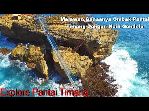 trending-topics-in-jogja---against-the-ferocious-south-sea-waves-on-the-timang-beach-/-pantai-timang