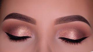 Bronzed Glowy Special Occasion Eye Makeup Tutorial
