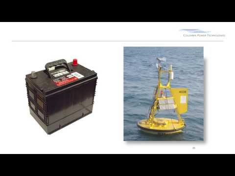 10 - StingRAY Wave Power by Columbia Power Technologies: USA