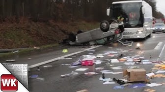 Unfall auf A3 bei Niedernhausen