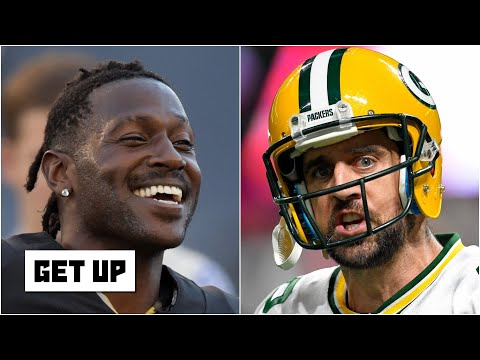 Should the Packers sign Antonio Brown to help Aaron Rodgers? | Get Up