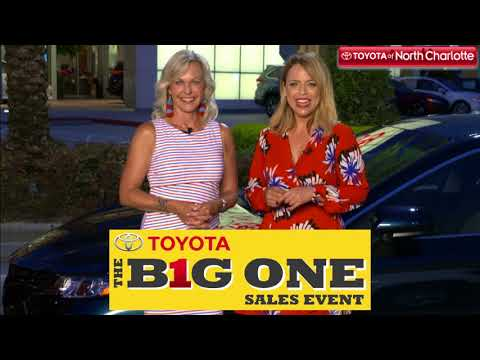 New Toyotas Are Waiting For You At The Big One Sales Event!