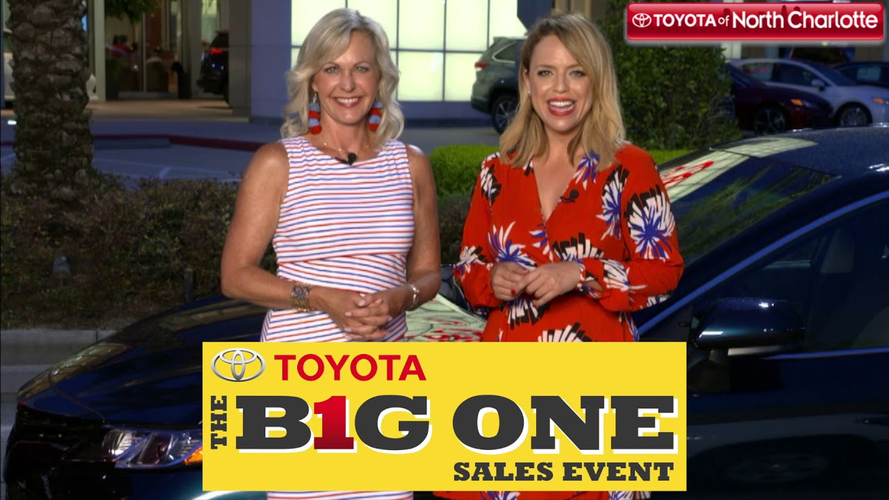 Wonderful New Toyotas Are Waiting For You At The Big One Sales Event! Toyota Of North  Charlotte