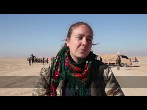 International volunteer with Syrian Democratic Forces in Raqqa operation