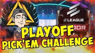 ПРОГНОЗ НА ELEAGUE ATLANTA 2017 (Playoff) - CS:GO