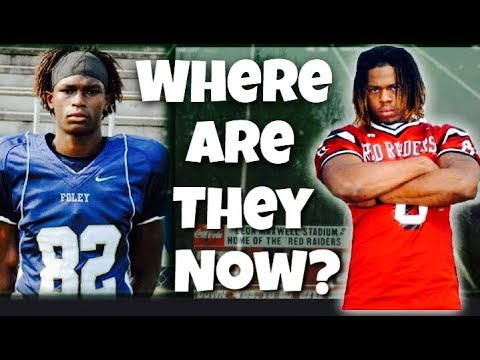 The Top 10 Recruits From 2008. Where are they now?