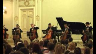 """A. Nikitin's Saint-Petersburg Cello Ensemble. V. Azarashvili """"Song Without Words"""""""