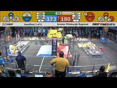 Semifinal 2 - 2018 Greater Pittsburgh Regional