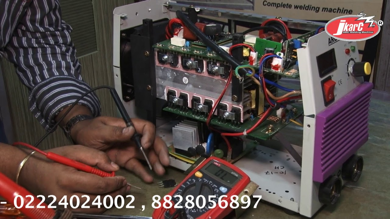 inverter welding machine arc 200 amp repairing tips and tricks repair welding machine at home  [ 1280 x 720 Pixel ]