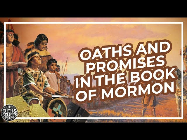Why were oaths taken so seriously in the Book of Mormon?