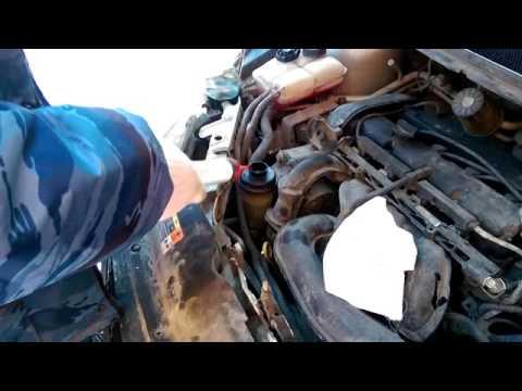 форд фокус2 замена масла в ГУРе ничего не разбирая
