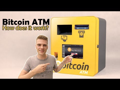 Bitcoin ATM - I went to a Bitcoin ATM! How does it work?
