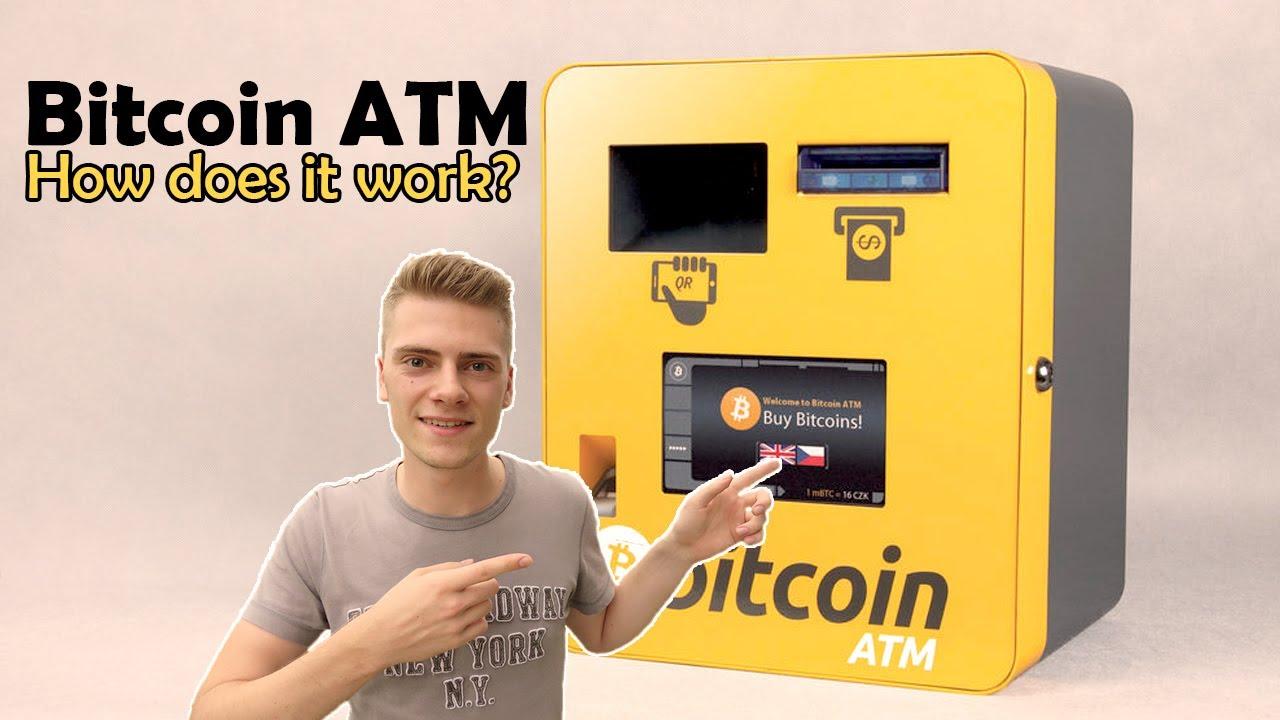 WIE FUNKTIERTIERT EIN BITCOIN ATM