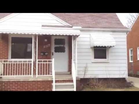 9936 Niver 3 Bedroom Allen Park Home For Rent