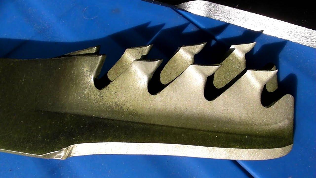 mamba mulching blades