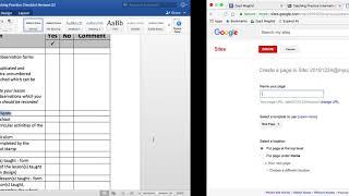 Erstellen einer e-portfolio für Schüler